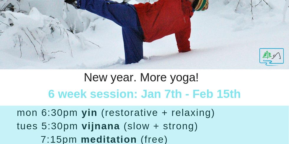 Winter Yoga Session