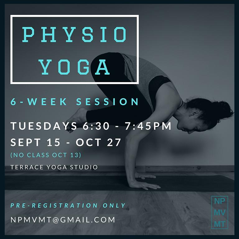 6-week Physio Yoga Series