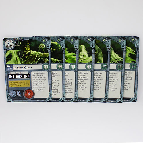 Thorns of the Briar Queen - Fighter cards