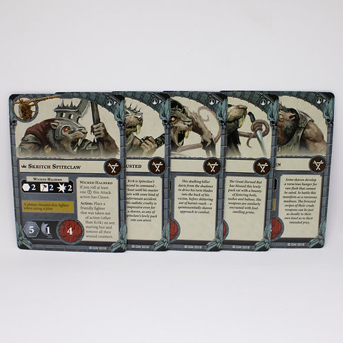 Spiteclaw's Swarm - Fighter cards