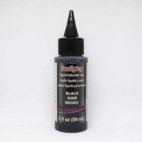 Liquid Sculpey  Black, 2 fl oz (59 ml)