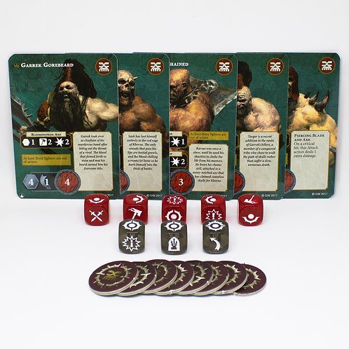 Garrek's Reavers - Fighting cards set