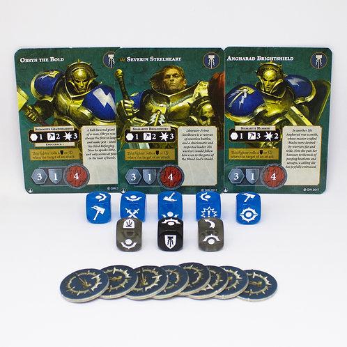 Steelheart's Champions - Fighting cardsset