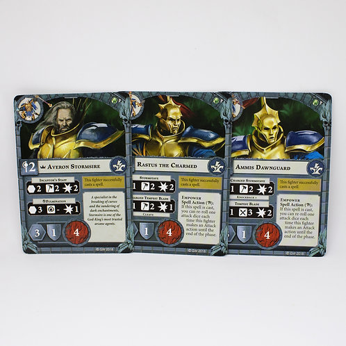 Stormsire Cursebreakers - Fighter cards