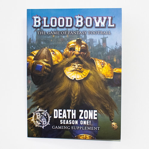 Blood Bowl Rule - hard cover book (excellent condition)