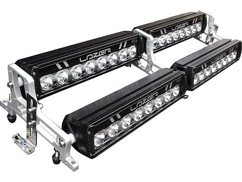 LAZER LED LUKTURU KRONŠT 4iem lukturiem ST/RS-8