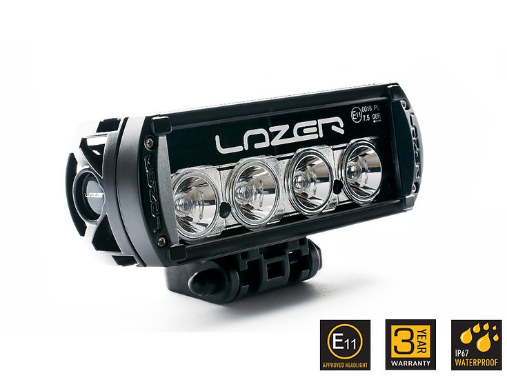 LAZER LED LUKTURIS ST-4 melns/E11