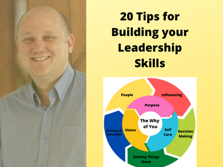 20 Tips for building your leadership skills
