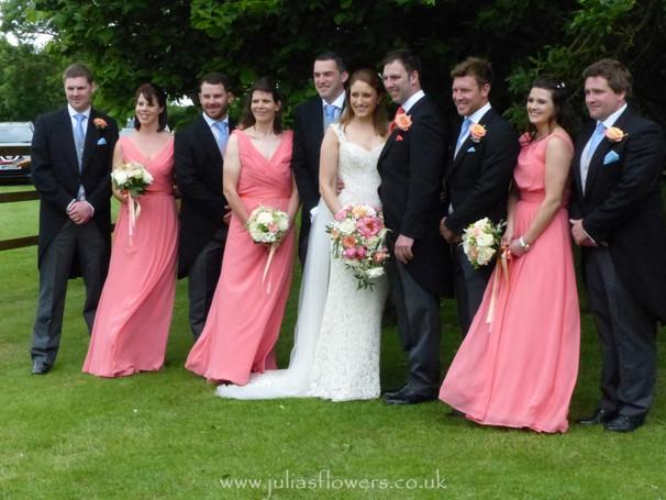 Bridal Party in the Garden.JPG