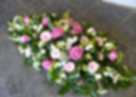 SP5 - Pink and White Spray with Roses, G
