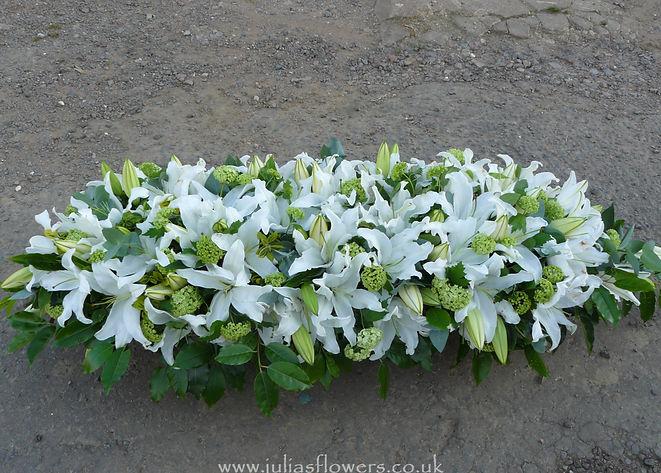 SP16 - Oriental Lily & Viburnum Spray.JP