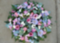PO11 Pink and Blue Country Posy Pad.JPG