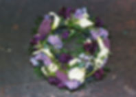 WR5 Purple, Lilac and White Wreath.JPG