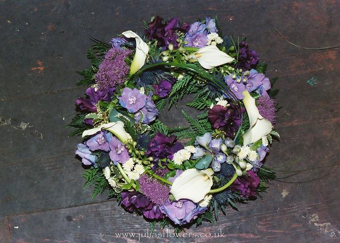 WR5 Purple, Lilac and White Wreath.JPG