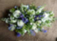 SP7 Country Style Blue and White Spray.J
