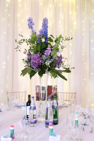 Table Vases and Arrangement.JPG