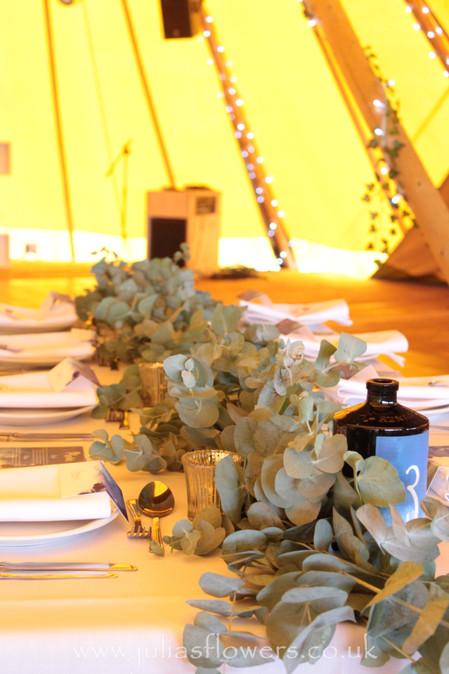 Eucalyptus Garlands for Tables.JPG