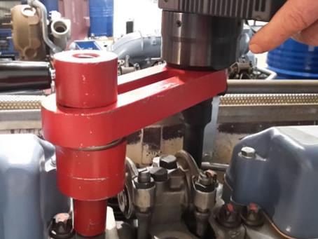 Safe tightening on Diesel Engines