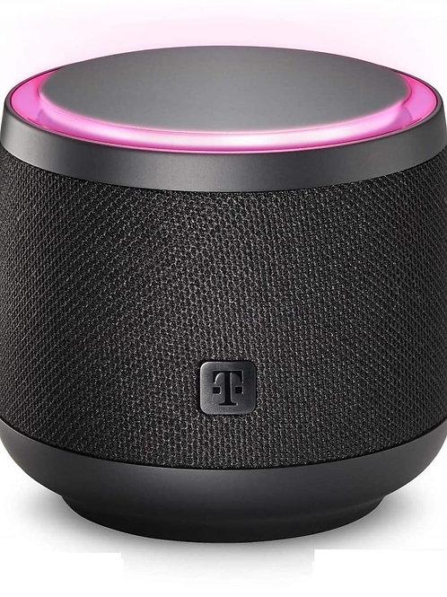 Smart Speaker der Telekom in schwarz oder weiß - integriert Alexa