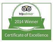 Trip Advisor Winner 2014