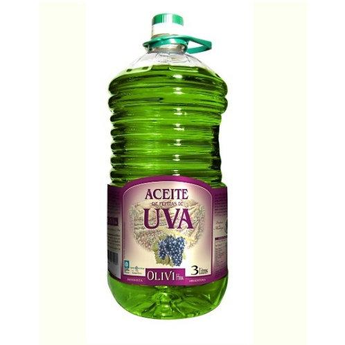 Aceite de Uva OLIVI x 3 litros