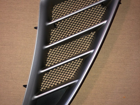 Sneak peak at the only OEM looking Porsche Cayman and Boxster side Intake Grills for the 987.2!