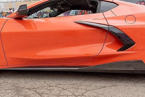 2020-22 Corvette C8 5VM Side Skirts Upgrade