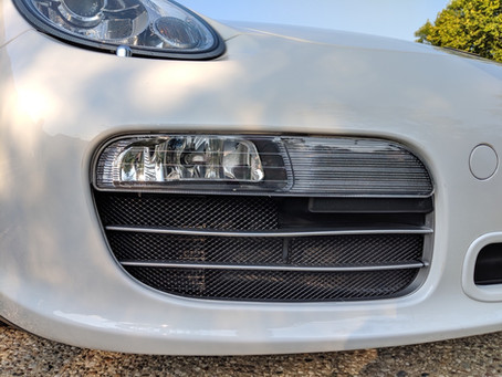 Porsche Boxster 987.1 Front Radiator Mesh Grilles are finally here!