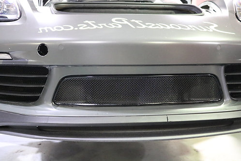 Porsche 718 Cayman and Boxster center radiator grille