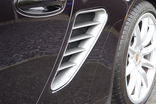 Porsche 987.1 and 987.2 Boxster Side Intake Grilles