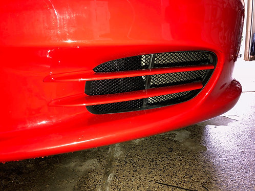 Porsche 986 radiator grilles for the small radiator intakes