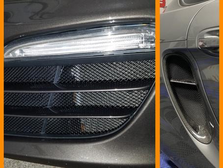 Porsche Boxster 981 Front Radiator Grills are in development!