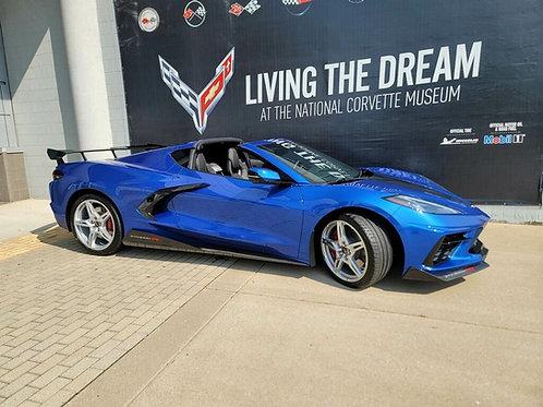 2020-22 Corvette C8 5VM Stingray R Aero Kit Upgrade