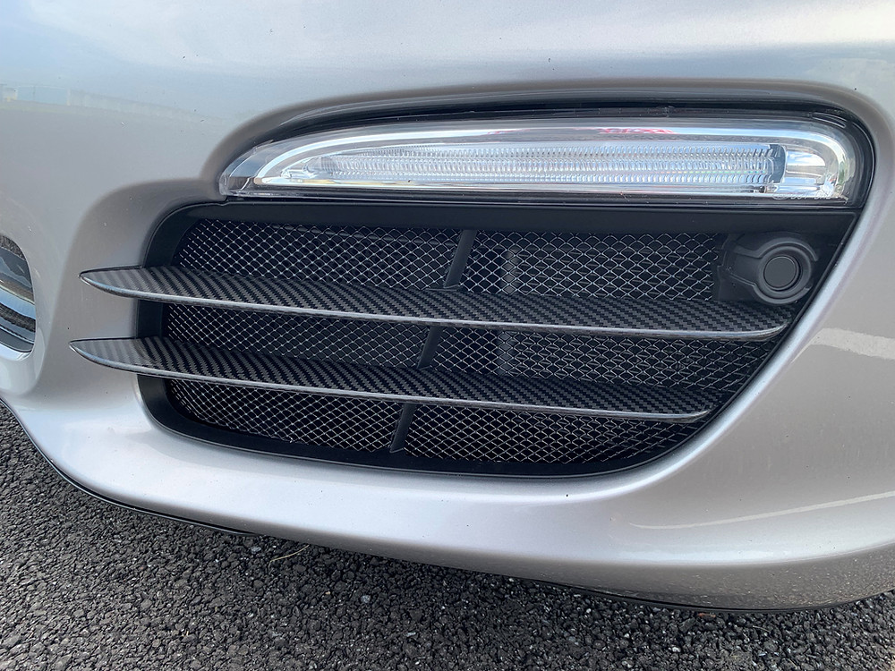 Porsche 981 Boxster Front Radiator Mesh Metal Grille