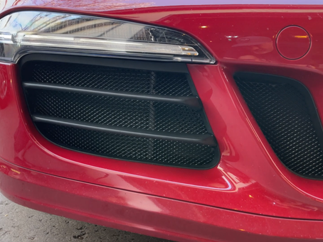 New Product Alert!  Porsche 991.1 911 GTS front radiator grilles!