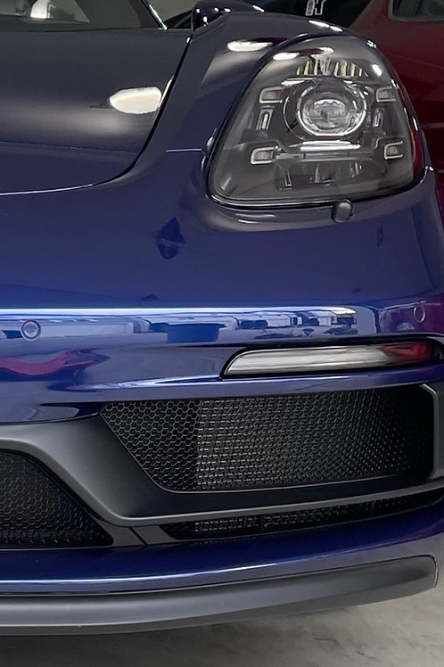 Porsche 718 2017- 2021 GTS Boxster and Cayman Front and Center Radiator Grilles