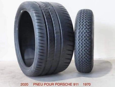 Porsche 911 tire technology.