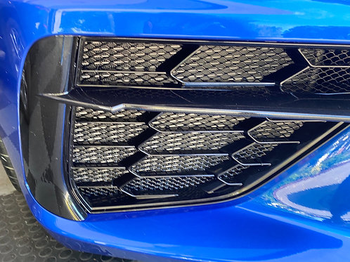2020 Chevrolet Corvette Aluminum Front Radiator Grille Screens