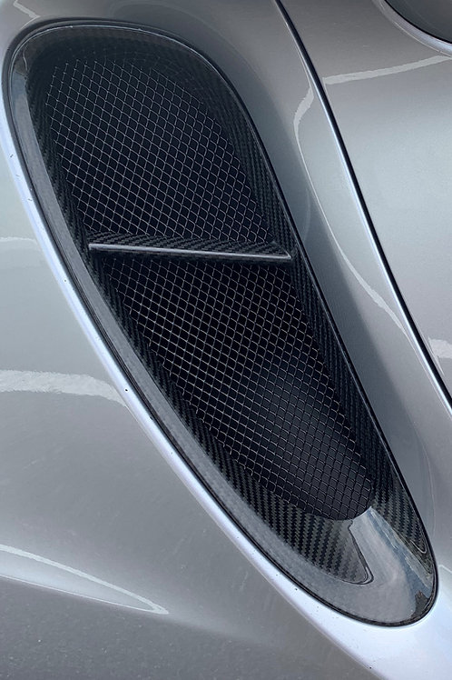 Porsche 981 Cayman and Boxster Side Intake Mesh Grilles