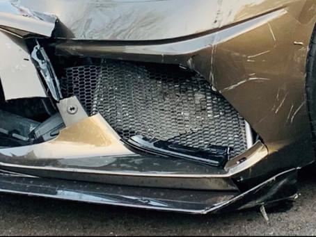 RGS C8 Corvette Radiator Grilles receive a 5 star crash rating, JK....sort of!
