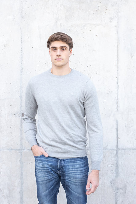 Sweater Ushuaia Gris Melange