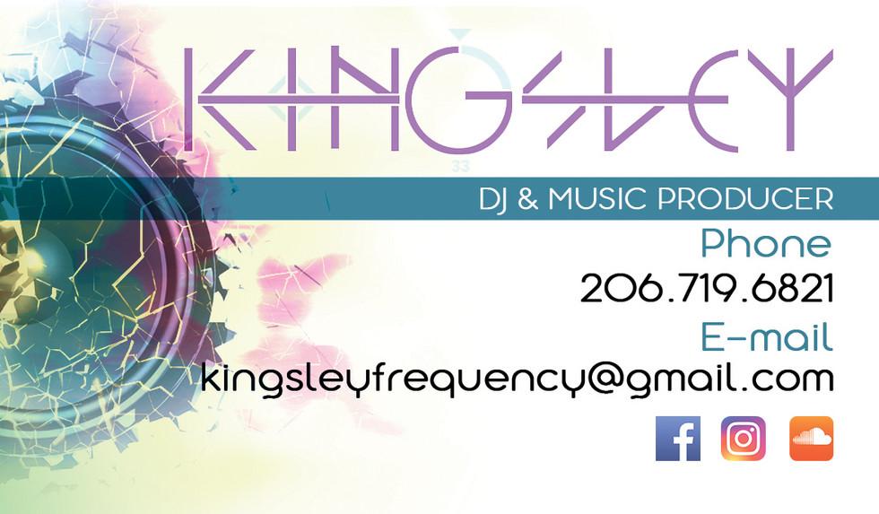KINGSLEY Business Card