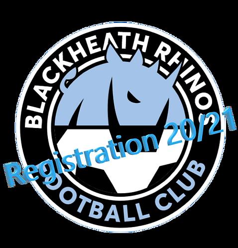 Blackheath Rhino's Team Registration