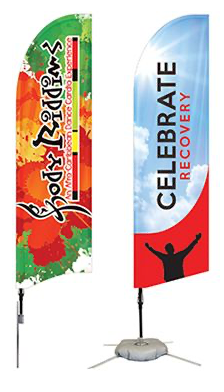 Custom Feather Flag Package