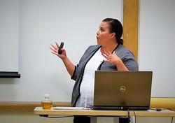 Melanie DiMartino, Rhode Island College