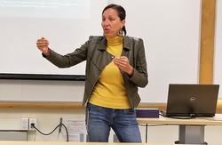 Veselina Vracheva, Chapman University1