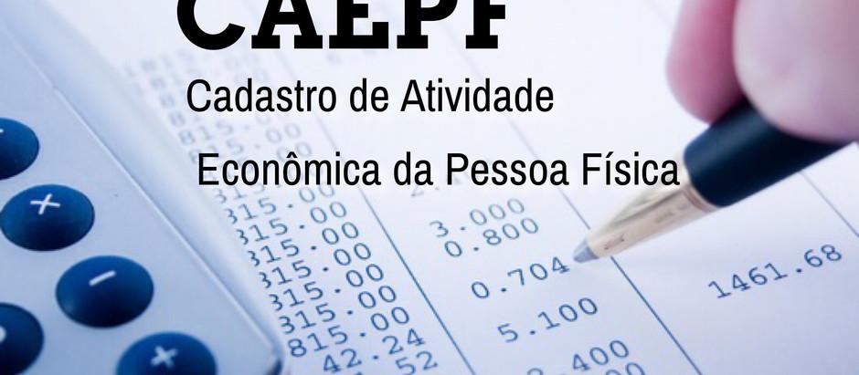 Caepf - Cadastro de Atividade Econômica da Pessoa Física