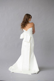 Style Ariel Wedding Gown Back View