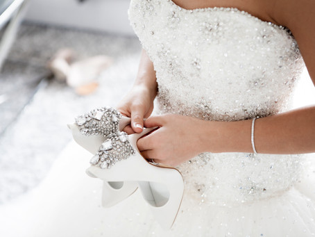 Key to the perfect fitting strapless wedding gown
