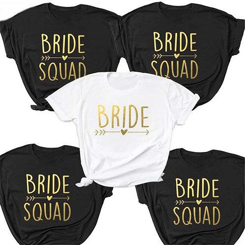 Bachelorette Bride Short Sleeve T Shirts